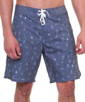 ceb8289f99615 Micros | Blue Abnus Board Shorts - Men
