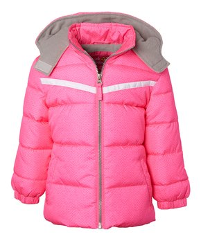 8c6ce4604 Pink Platinum | Knockout Pink Cut & Sew Puffer Coat - Toddler