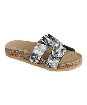 4c3eafa063cb black print visa sandal