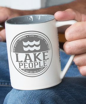 Great Outdoorsman Buck Burnt Orange 16 Ounce Ceramic Camper Coffee Mug