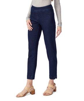 95873ac358ca9 Vincente Jeans | Denim Tummy-Control Contour-Waist Crop Pants - Women
