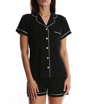 517df2e553be Blis   Black Shorts Pajama Set - Women
