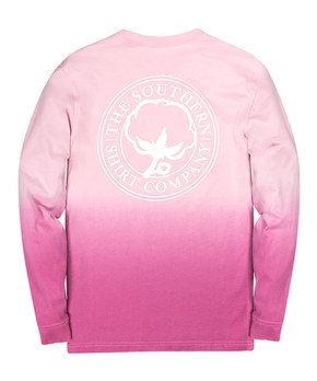 4df9c12a Southern Shirt | Paradise Pink Logo Ombré Short-Sleeve Tee - Women
