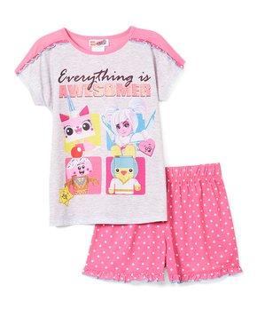 d9e22bb84 LEGO® Movie 2 'Everything is Awesomer' Pajama Set - Girls