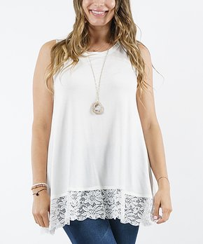34a78b1fe6c plus size lace tops | Zulily