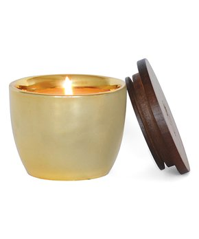 FlashPoint Candle Mini Ceramic Yellow with Zest