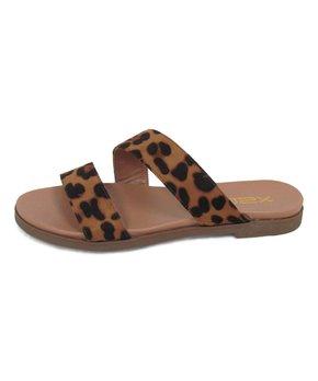 919e1aff5507f brown arrow t strap sandal 270286 47136975.html | Zulily