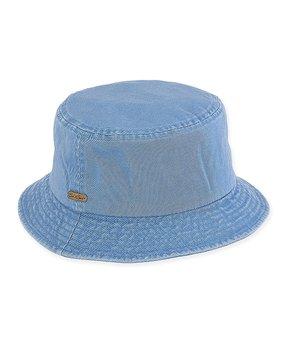 519075267ca21b Caribbean Joe | Blue Bucket Hat