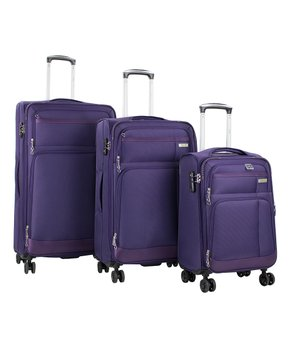 770bd2146 American Green Travel | Purple Hamilton Expandable Spinner Three-Piec…