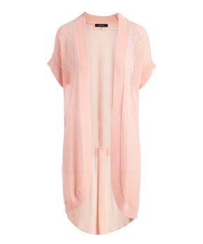 3badd3ac5c8ec1 14 viewing · August Silk   Pink Salt Open Short-Sleeve Cardigan - Women
