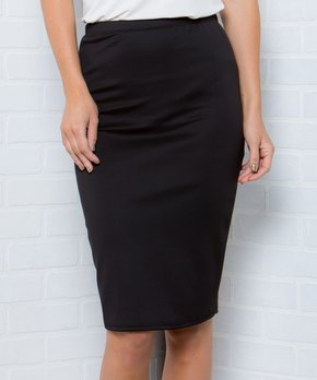 650b78fbd Acting Pro | Black Pencil Skirt - Women & Plus