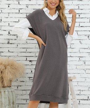 82c4b4e1f38 women's sweater dress | Zulily