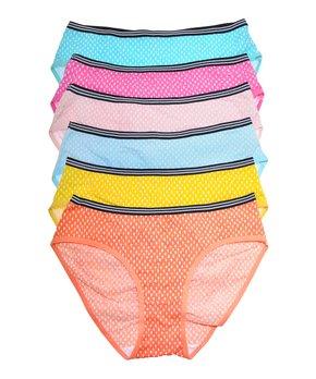 b95bc2d15f070f Angelina | Orange & Yellow Raindrop Cotton Bikini Set - Women