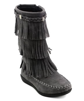 1ffabd4057c Kids Fringe Boots - Save Up to 70% on Trendy Footwear for Girls   Zulily