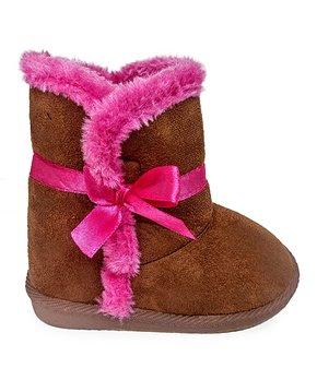 59e364bb466cd baby girl boots | Zulily