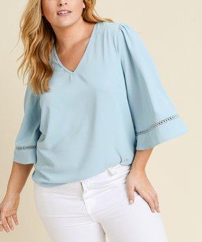 86c5382b411533 plus size blouses | Zulily