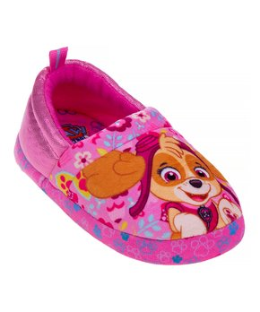 Sophias Pink Slippers for Dolls Faux Fur Pink Slipper with Flower Embroidered Detail Perfect for 18 Inch Dolls Sophia/'s