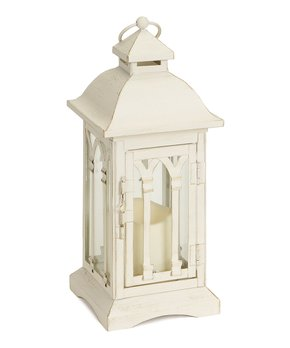 Melrose | White LED Candle Lantern