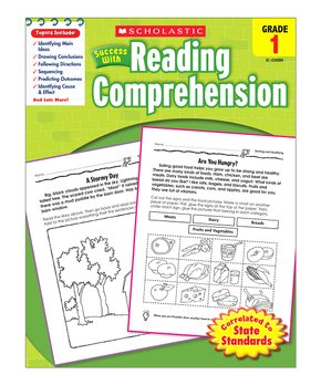 Scholastic Teaching Resources | Grade 1 Reading Comprehension Workbook