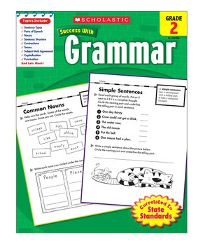 Scholastic Teaching Resources | Grade 2 Grammar Workbook