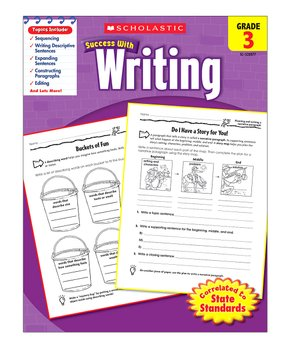 Scholastic Teaching Resources | Grade 3 Writing Workbook