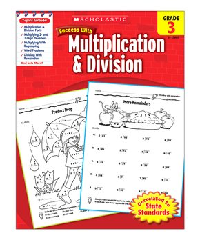 Scholastic Teaching Resources | Grade 2 Multiplication & Division Workbook