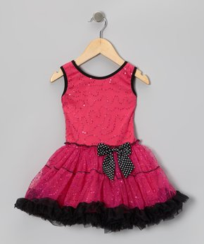 ad630a3fe5 Sparkle Adventure | Fuchsia Leopard Halter Pettiskirt Dress - Girls. all  gone