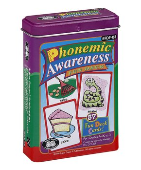 Super Duper Publications | Phonemic Awareness Fun Deck