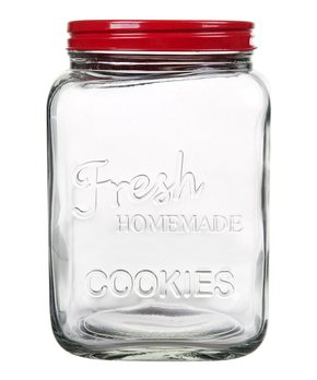 Home Essentials and Beyond | Red 'Homemade Cookies' Jar