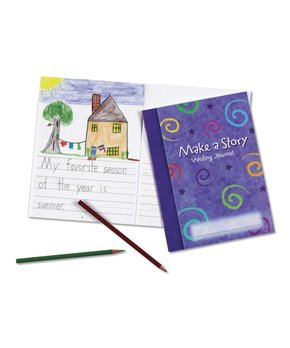 Learning Resources | Make-a-Story Journal - Set of 10