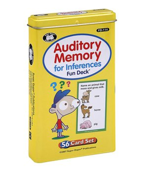 Super Duper Publications | Auditory Memory for Inferences Game
