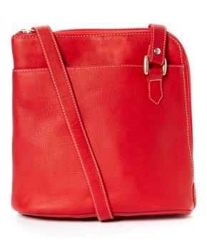 Le Donne | Tan Side-Zip Leather Hobo