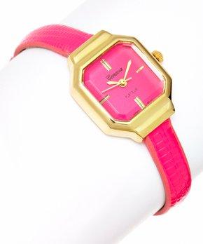 fca17292f all gone. Geneva Platinum   Hot Pink Skinny Watch