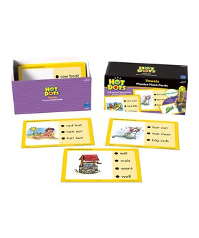 Hot Dots | Grade 2 Hot Dots Standards-Based Language Card Set