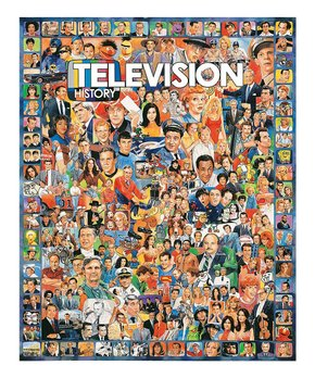 White Mountain Puzzles | Television History 1,000-Piece Puzzle
