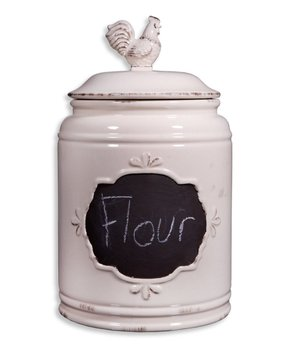 Home Essentials and Beyond | Ivory Rooster 177-Oz. Canister