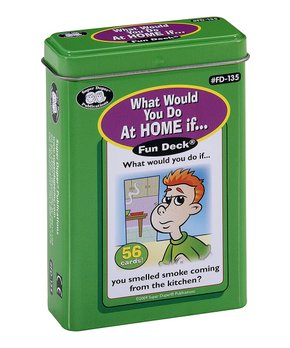Super Duper Publications | What Would You Do at Home Card Deck!