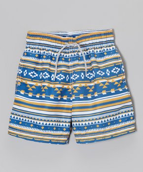 Azul Blue KELP Board Shorts