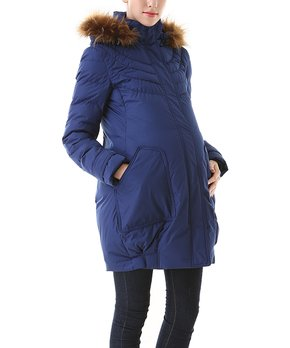 e34f28ba55466 ... Wool-Blend Belted Maternity Coat · all gone