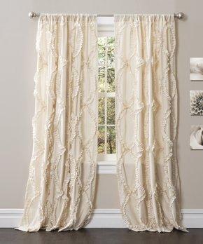 Duck River Textile | Indigo Dawn Three-Piece Curtain Set