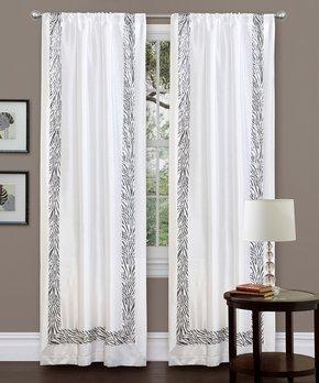 Duck River Textile | Garnet Lonnie Blackout Curtain Panel - Set of Two