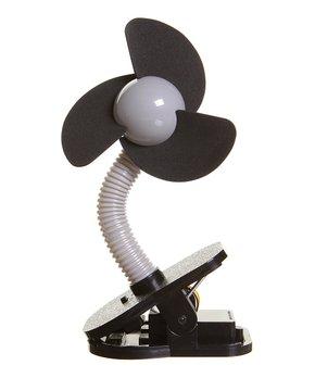 Dreambaby   Black Clip-On Fan