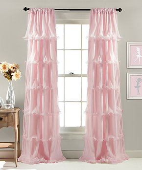 Lush Décor | Pink Nerina Curtain Panel