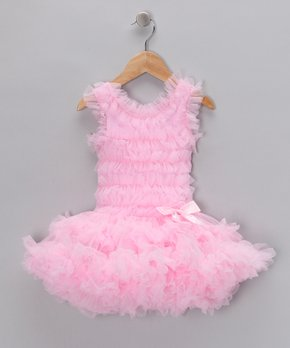 c13b0431d0e4 all gone. Pink Bow Ruffle Dress - Toddler & Girls