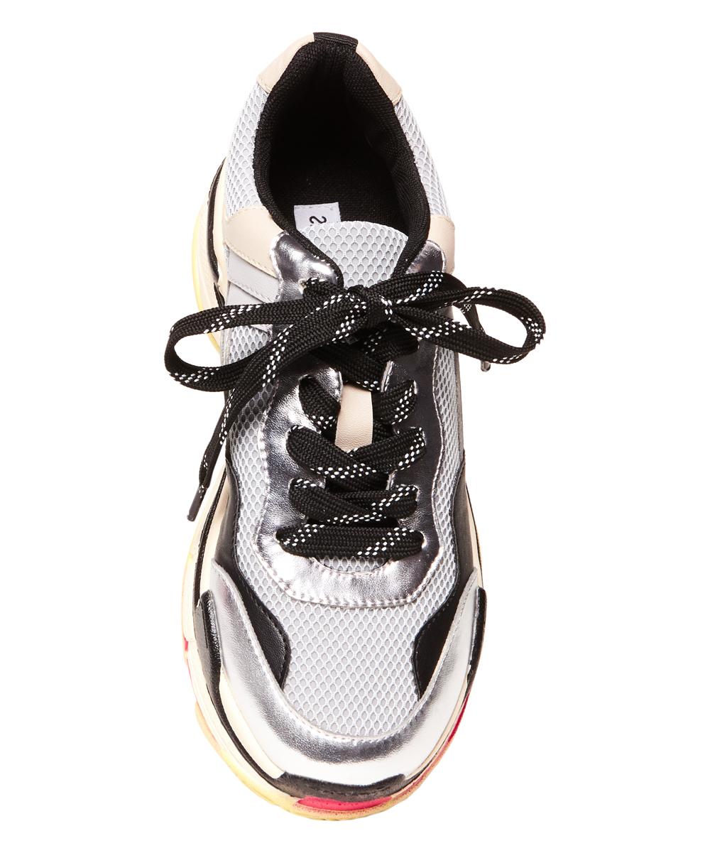 93d199cb7ee Steve Madden Gray Nassau Sneaker - Women