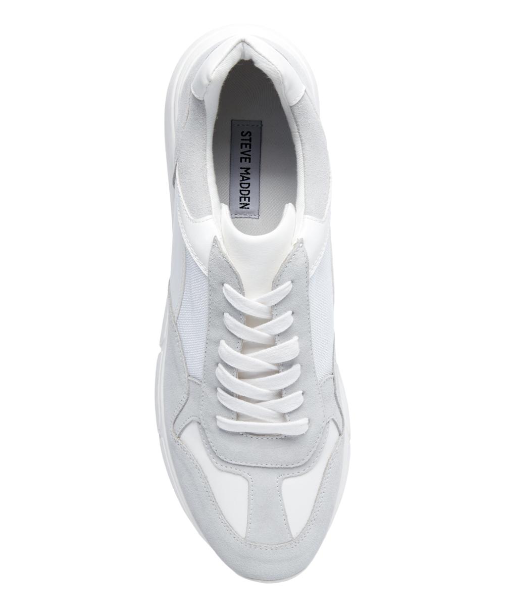 86ce9fc3701 ... Mens WHITE White Cole Leather Sneaker - Alternate Image 4 ...