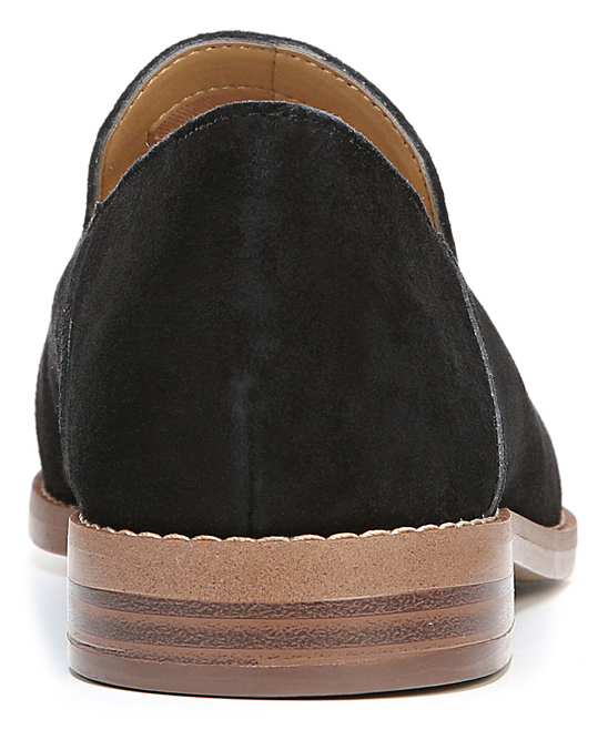 c516f48823b8 Franco Sarto Black Haylee Suede Loafer - Women | Zulily