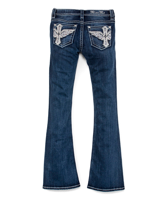 a7daa1c668 all gone. Blue Winged Cross Pocket Bootcut Jeans ...