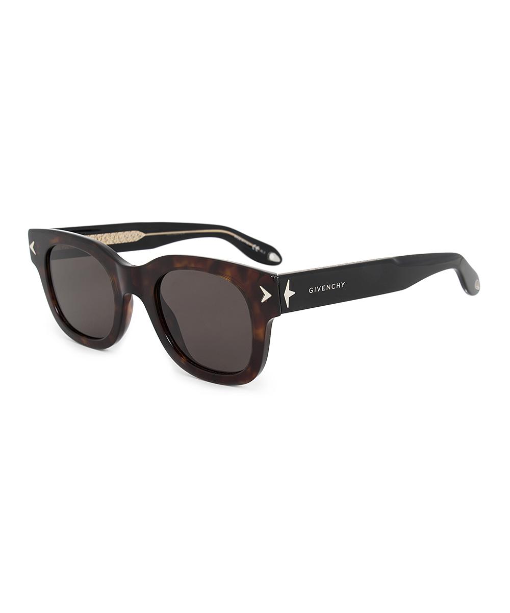 4fae6aa35e6f Givenchy Havana Brown & Black Square Sunglasses   Zulily