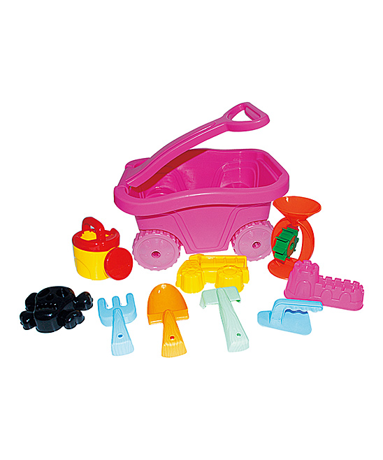 Small World Toys  Water toys  - 10-Piece Wagon Set